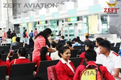 ZEFT Aviation students at Kempegowda Bangalore Airport