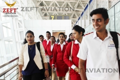 ZEFT Aviation students at Airport